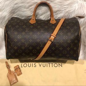 Authentic Louis Vuitton Speedy 40 Tote #6.6L